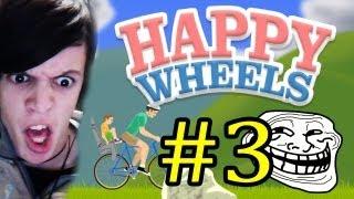 getlinkyoutube.com-LAS MINAS TRAEN PROBLEMAS - Happy Wheels [Parte 3] - Con Alfredito