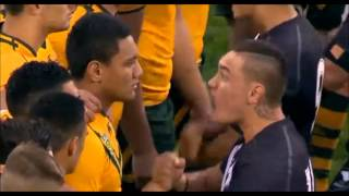 getlinkyoutube.com-Fiery Haka at Australia & NZ's Under-20s Rugby League 2014