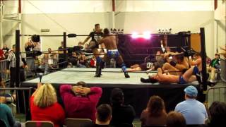 Cedric Alexander Kills Jett Black