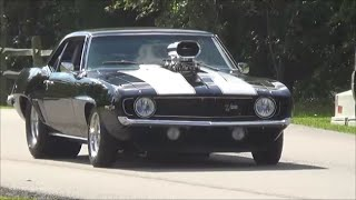 getlinkyoutube.com-1969 Z28 Camaro Blown Pro Street