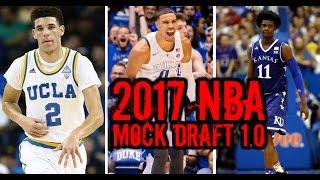 getlinkyoutube.com-2017 NBA Mock Draft 1.0: Josh Jackson Markelle Fultz Jayson Tatum