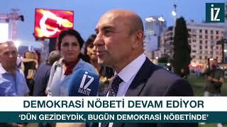 'Dün Gezi Parkındaydık bugün Demokrasi Nöbeti'ndeyiz'