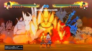 getlinkyoutube.com-Naruto Shippuden Ultimate Ninja Storm 4 - Majestic Armor Kurama Gameplay (Indra's Arrow)