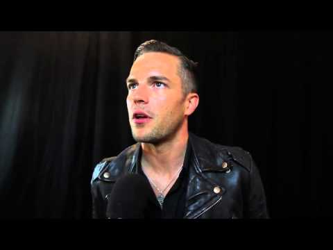 The Killers' Brandon Flowers wins the Q Idol Award at the 2012 Q Awards