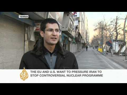 Iranians react to proposed EU sanctions