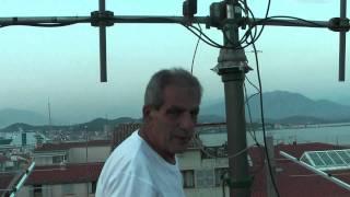 getlinkyoutube.com-TK5JJ. EME 144MHZ 4 X 9 ELTS Low Noise LFA Yagis INOVANTENNAS