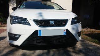 getlinkyoutube.com-Seat Leon FR 1.8 TSI DSG acceleration 0 - 150 km/h