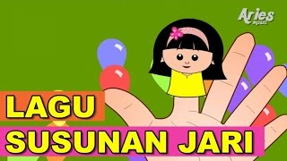 getlinkyoutube.com-Lagu Kanak Kanak Alif & Mimi - Lagu Susunan Jari (Animasi 2D) Finger Family