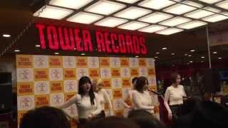 150312 TAHITI - Phone Number at TOWER RECORD Shibuya