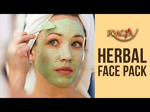 Herbal Face Pack - How To Make Herbal Face & Body Pack at Home