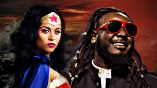 getlinkyoutube.com-Wonder Woman vs Stevie Wonder.  Epic Rap Battles of History.