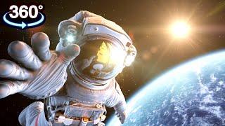 getlinkyoutube.com-360° VIDEO VR 4K ✈ Space Station 360 ★ Call of Duty Ghosts [Google Cardboard] Oculus Gear VR Box 360