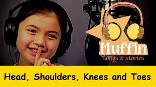getlinkyoutube.com-Head Shoulders Knees and Toes | Family Sing Along - Muffin Songs
