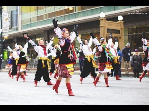 На День Подяки в центрі Чикаго українці танцювали гопак на морозі.