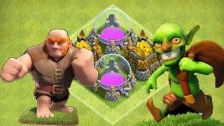 getlinkyoutube.com-Фарм золота и эликсира. clash of clans