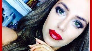 getlinkyoutube.com-Maleficent Makeup♡Collab With Lenysea