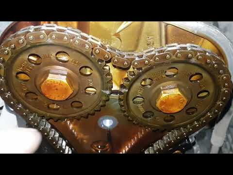 VW POLO седан 1,6 CFN Замена цепи ГРМ без спец инструмента