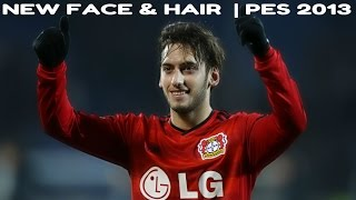 PES 2013 | New face & hair HAKAN CALHANOGLU 2015/16 [720p]