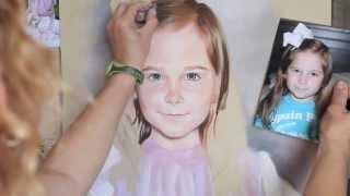 getlinkyoutube.com-Pastel portrait process