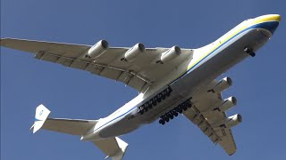 getlinkyoutube.com-4K Spectacular Overhead Landing ANTONOV 225 in Ultra HD