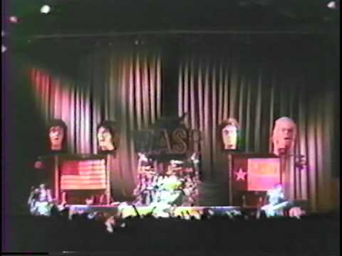 W.A.S.P. - Blind In Texas (San Antonio Convention Center Arena - Texas)