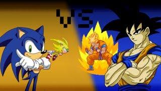 getlinkyoutube.com-Goku VS Sonic - The 8Bit Rap Battles #1