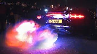 getlinkyoutube.com-BEST-OF Lamborghini Aventador sound compilation 2016