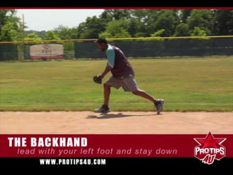 Fielding Tips: Backhanded Ground Balls with Hanley Ramirez