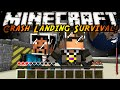 Minecraft Modded Crash Landing : A NEW WORLD!