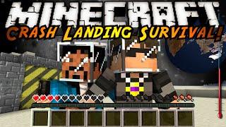 getlinkyoutube.com-Minecraft Modded Crash Landing : A NEW WORLD!