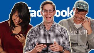 People Read Their Old Facebook Statuses