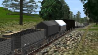 getlinkyoutube.com-Edward the Blue Engine Helps Out Gordon the Express Engine With An Very Long Train