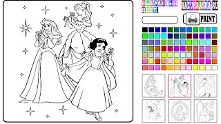 getlinkyoutube.com-Princess Coloring Pages - Coloring Pages For Kids
