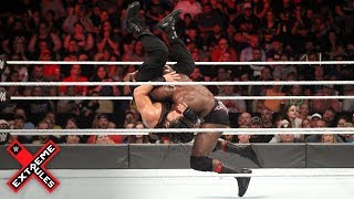 Bobby Lashley And Roman Reigns Collide In Hard Hitting Clash: WWE Extreme Rules 2018 (WWE Network)