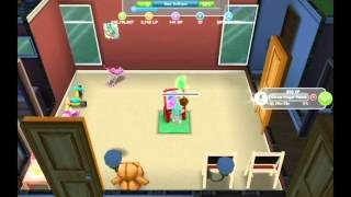 Sims FreePlay - Colors Everywhere [Finger Painting Hobby Video]
