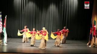 Tarian Manuk Dadali oleh KBRI Amman pada The 50th Anniversary of ASEAN
