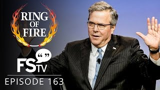 getlinkyoutube.com-Ring of Fire On Free Speech TV   Episode 163 - Jeb Is Grasping At Straws