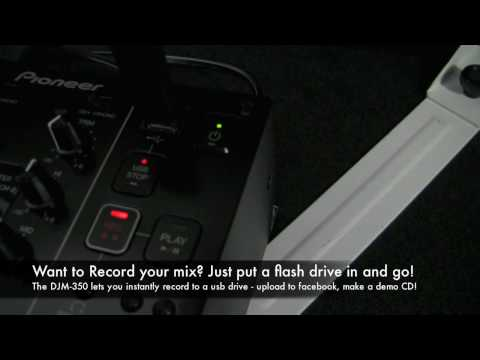 Pioneer DJM-350 Mixer Overview