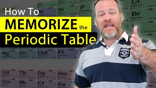 How To Memorize The Periodic Table - Easiest Way Possible to Remember Elements!