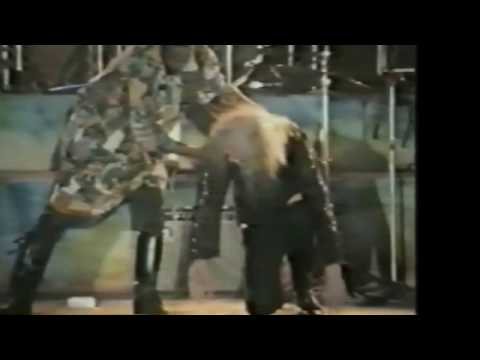 Copernicus and band in Prague. 6/17/1989. 5 cameras onstage.