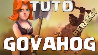 getlinkyoutube.com-{TUTO} Apprends a PERFECT en GOVAHOG / HDV 8 9 10 / Clash of Clans FR