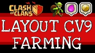 getlinkyoutube.com-Clash of Clans | TOP 3 melhor Layout CV9 Farming #3 [FULL HD]