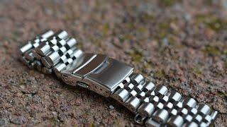 getlinkyoutube.com-Обзор разных часовых браслетов из нержавейки (22мм) #2