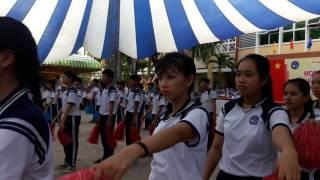 getlinkyoutube.com-55 năm | THPT Chợ Gạo | Đồng diễn thể thao