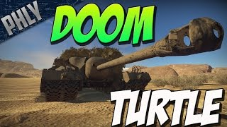 getlinkyoutube.com-NO AMMO, NO PROBLEM - T-95 DOOM TURTLE (War Thunder Tank Gameplay)