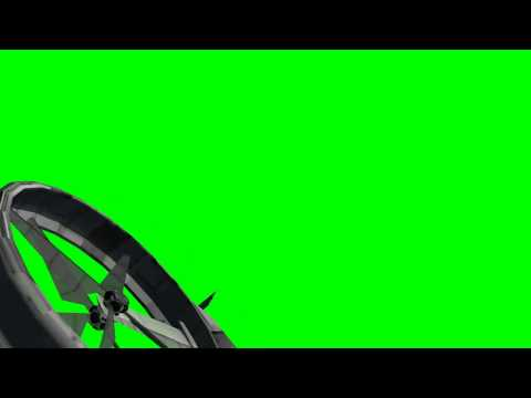 avatar scorpion gunship in flight- animated rotors - differnet views - green screen effects