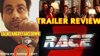 RACE 3 TRAILER OFFICIAL REVIEW BY FREDDY DARUWALA | CONFIRMS DATE CHAND DINO KE BAAD