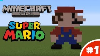 getlinkyoutube.com-Minecraft Pixel Art Tutorial: 8-Bit Mario