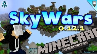 getlinkyoutube.com-Como entrar a SkyWars en Minecraft PE 0.12.1