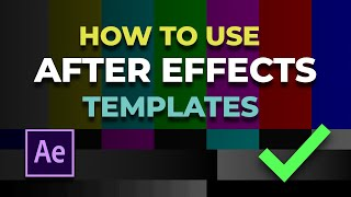 getlinkyoutube.com-How To Use After Effects Templates | Lower Third Template for WBHS Students